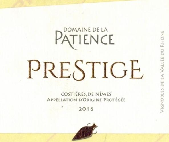 AOP Costières de Nîmes Prestige red 2016 AB