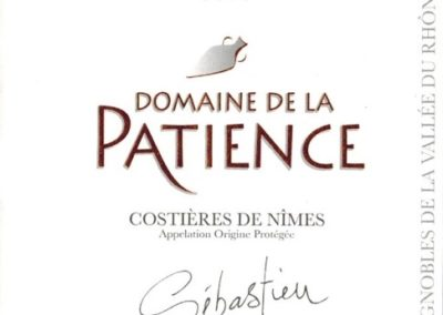 AOP Costières de Nîmes Sébastien red  AB