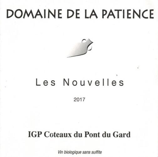 IGP Coteaux du Pont du Gard, Chardonnay without sulphur, AB