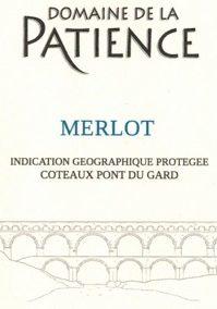IGP Coteaux du Pont du Gard Merlot red  AB